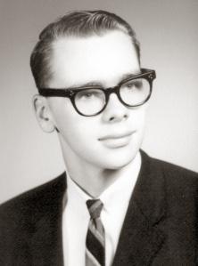 The author graduates high school in 1966