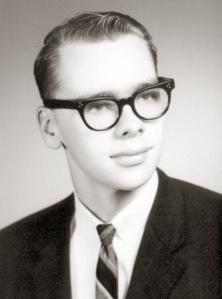 The author graduates high school in 1966
