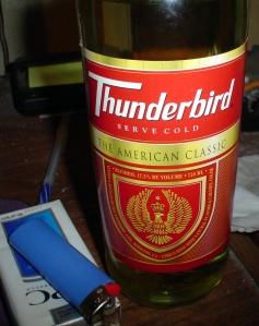 thunderbird wine