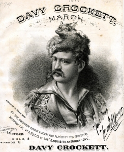 davy crockett march