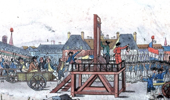"""Execution of Robespierre"" detail"