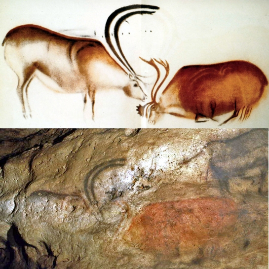 "Comparing the ""enhanced"" reproduction with the actual drawing. More on this in Part 2"