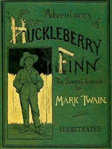 huck finn book cover