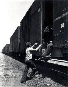 jumping a freight