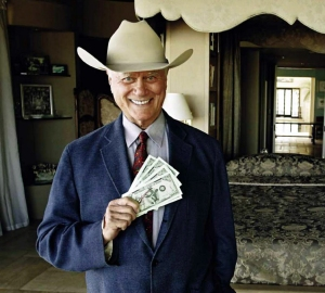 larry hagman with cash