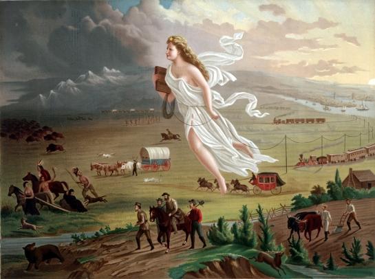manifest destiny gast