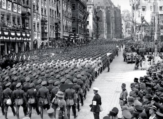 Nürnberg, Reichsparteitag, Marsch der Wehrmacht