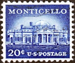 monticello stamp