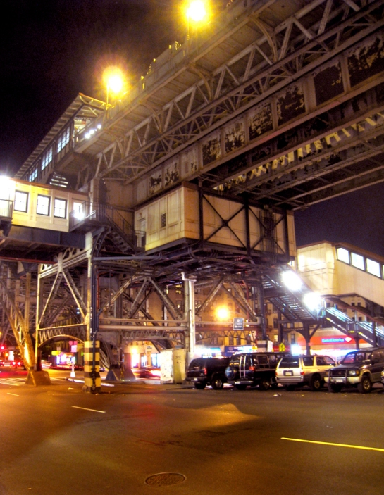 ny 172nd st elevated station