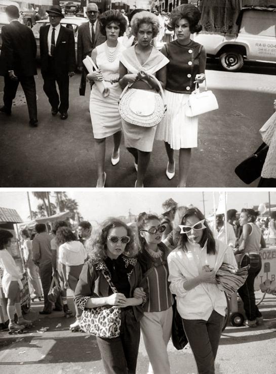 winogrand street women pair