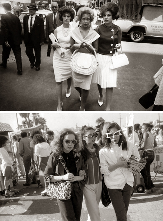 winogrand street women pair