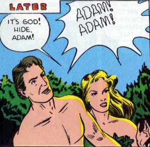 adam and eve comic