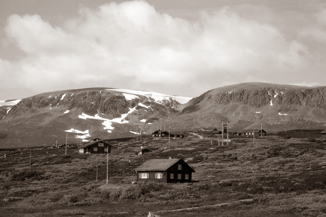 Collection of hytte, Hallingdal, Norway