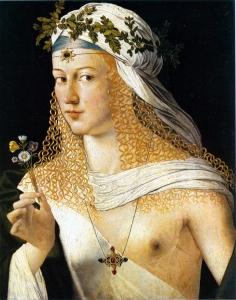 Lucrezia Borgia by Bartolomeo Veneto