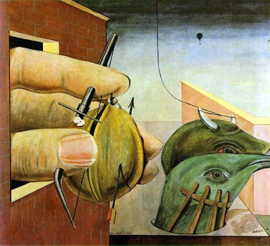 """""""Oedipus Rex"""" by Max Ernst, 1922"""