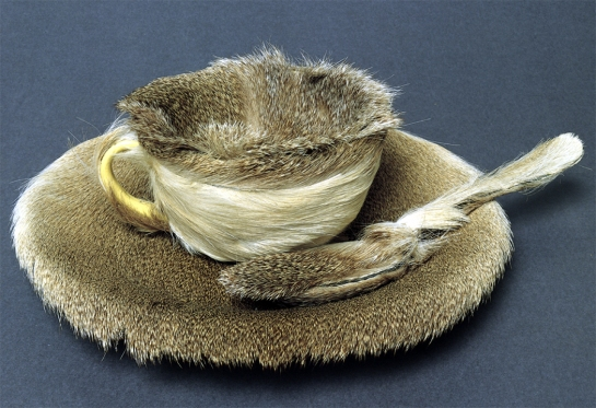 """Object"" by Meret Oppenheim, 1936"