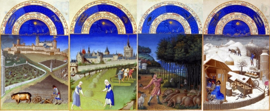 tres riches heures seasons