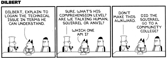 Dilbert strip