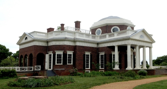 monticello side view