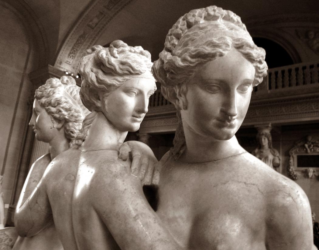 Three graces Louvre