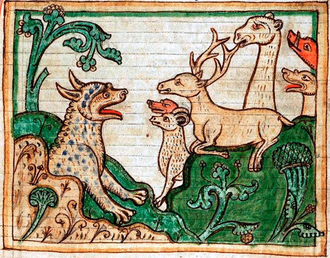 Animals in art richard nilsen medieval animals copy biocorpaavc Image collections