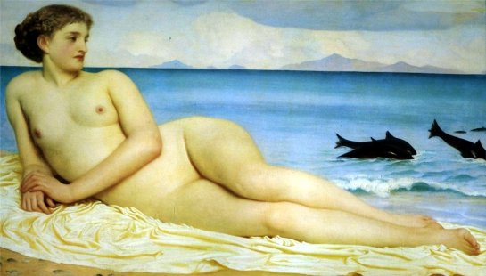 actaea-the-nymph-of-the-shore-1853 lord leighton.jpg!HD