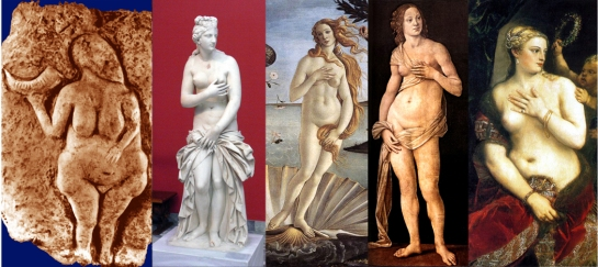 Birth of venus archetype
