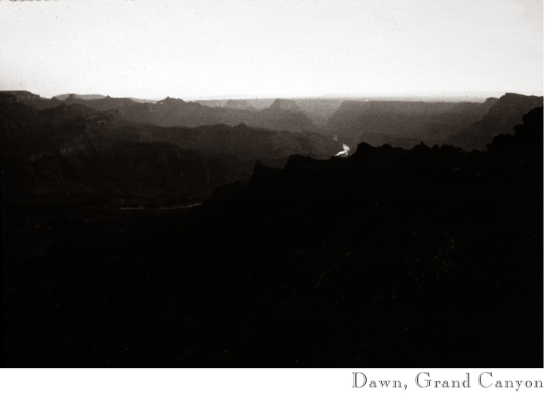Dawn, Grand Canyon