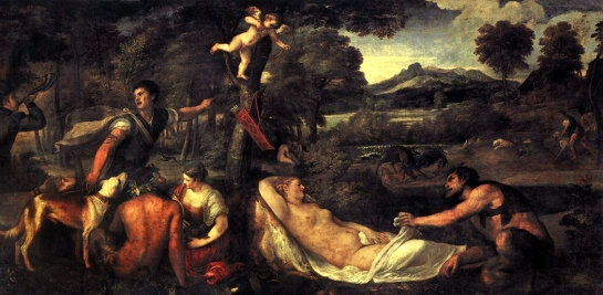 jupiter&antiope titian 1535