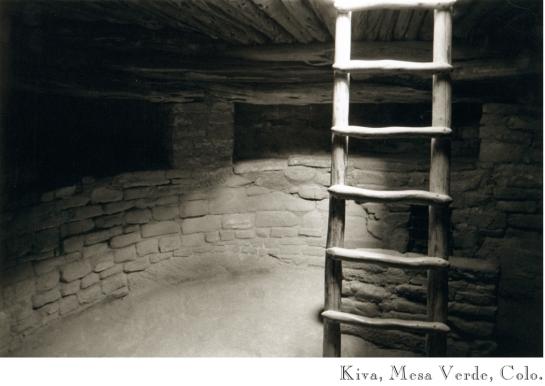 Kiva, Mesa Verde, Colo