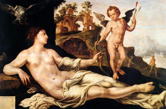 Venus&cupid heemskerck 1545