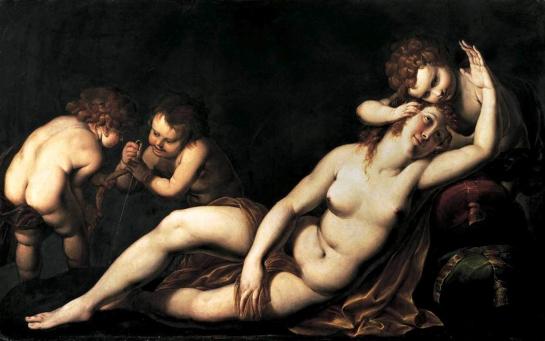 venus&cupids procaccini 1625