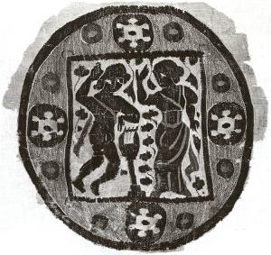 O and E Egyptian textile