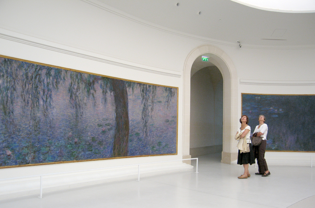 Orangerie gawkers, 2006