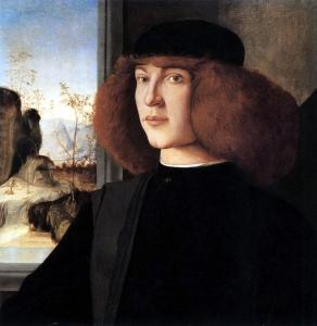 portrait of a man palmezzano