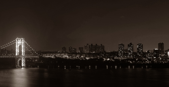nyc night skyline