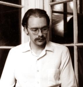 Richard back porch 1975