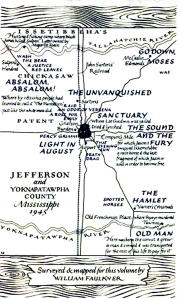 Yoknapatawpha.County map