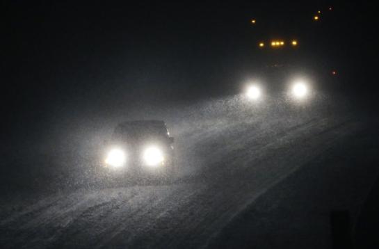 blizzard headlights