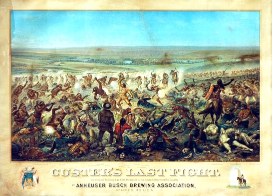 custer's last fight anheuser busch