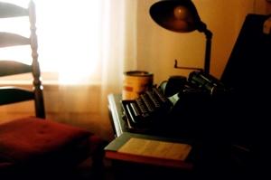 faulkner's typewriter