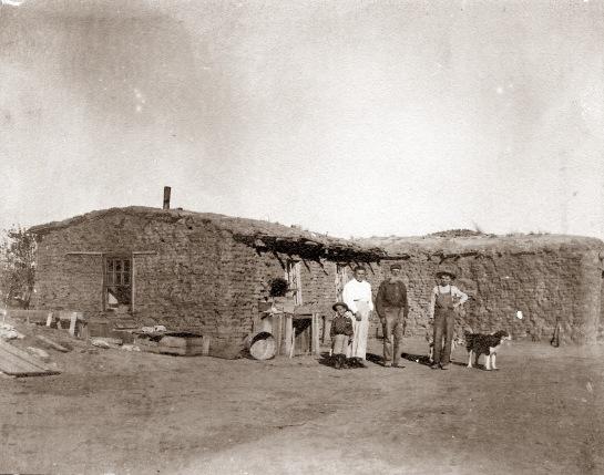 kansas sod house