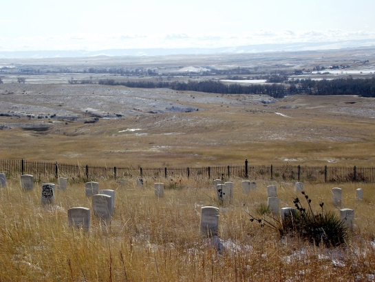 little bighorn headstones
