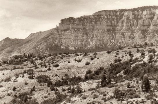 Shell Falls Gorge, Bighorn Mountains, Wyo