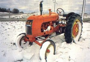 snow tractor bismark