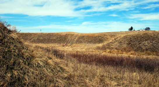 wounded knee gulley