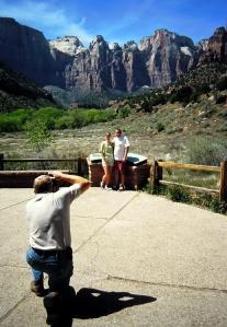 zion tourists