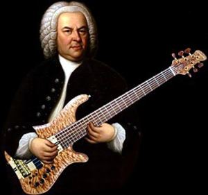 bach with electric guitar