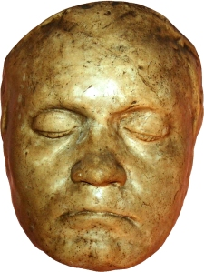 beethoven death mask