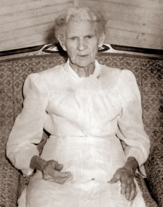 Great grandmother, Nancy Jane Lind Hutchison Steele, wife of Rowan Steele.